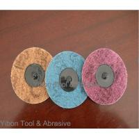 China 3inch 3M Polishing Nylon Abrasive Non Woven quick change Disc on sale