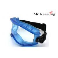 Buy cheap Unisex Eye Protection Goggles , UV Protection Blue Frame Goggles from wholesalers