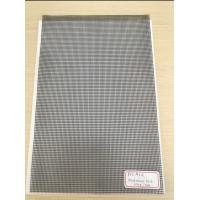 Buy cheap 500D X 500D 9x13 Reinforced PVC Coated Polyester Mesh Black Mesh for Outdoor Fence from wholesalers