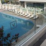 Buy cheap Top Grade U Shaped Channel Glass Railing / frameless glass Balcony Railing from wholesalers