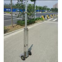 Buy cheap 2mm wall 6063 aluminum tube 6-18m telescopic mast with tripod stand from wholesalers