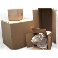 Buy cheap Corrosion Resistant Corrugated Packaging Boxes For Transporting Recyclable Carton from wholesalers