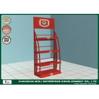 Buy cheap Durable Four Layers Wine Rack Stand Promotional Rack Shelf Excellent from wholesalers