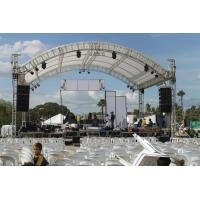 Buy cheap Professional 6082- T6 Aluminum Square Truss With Curved Tent Series from wholesalers