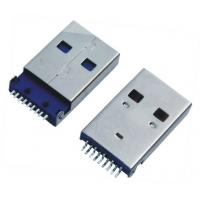 Buy cheap USB A / M 90 Degree Sinking Board Tyle USB  Female Connector product