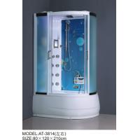 Buy cheap Safety Complete Shower Cabins Left / Right ABS Complete Shower Room With Tray from wholesalers