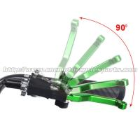 Buy cheap KX 125 250 Motorcycle Brake Adjustable Clutch Lever Aftermarket CNC Billet Dirt Bike Parts for Kawasaki from wholesalers