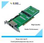 Buy cheap 2U Class 4 Port E1/T1/J1 PRI Asterisk PCI Card from wholesalers