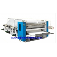 Buy cheap PLC V Fold 1260mm Width Facial Tissue Production Line from wholesalers