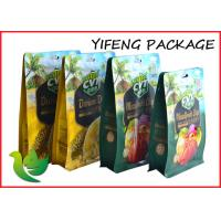 Buy cheap Durable Square Bottom Bags Resealable For Dried Fruit Packaging from wholesalers