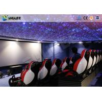 Buy cheap 30 People Motion Chairs XD Theatre With Cinema Simulator System / Special Effect from wholesalers