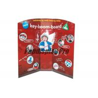 Buy cheap Early Learning Musical Instruments Custom Standee Cardboard Point Of Sale Display Stands from wholesalers