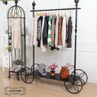 Buy cheap design iron clothing display shelves metal rack stands from wholesalers