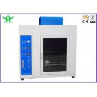 Buy cheap Material Burning Horizontal Flammability Tester , 220v Needle Flame Test Apparatus from wholesalers