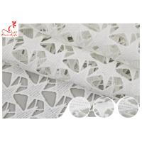 Buy cheap SGS Width 120cm Embroidered Floral Lace Fabric For Dress Making from wholesalers