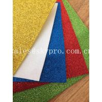 Buy cheap Durable  Rubber Sole Sheet Foam Sheet OEM Glitter With Stable Powder For Kids Craft from wholesalers