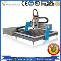 Buy cheap Advertising cnc router 6090 / mini wood design cutting machine for PCB /PVC/ Aluminum/Copper TMG6090-THREECNC product