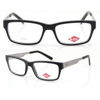 Buy cheap Men Retro Handmade Acetate Eyeglasses Frames, Black Acetate Optical Eyewear Frames product