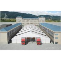 Buy cheap Waterproof Industrial Canopy Tent Fabric Shelter Systems With Transparent Skylight from wholesalers