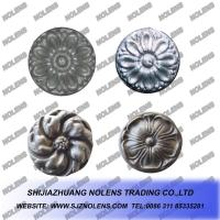 Buy cheap Cast Steel Rosettes,Cast Steel Panels for Gate and Railings,Wrought Iron Ornaments from wholesalers