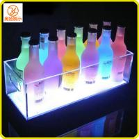 Buy cheap New design customized LED acrylic ice bucket for the wine in the pub from wholesalers