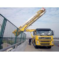 Buy cheap 8x4 22m Latice under bridge inspection equipment VOLVO With Air suspension system from wholesalers