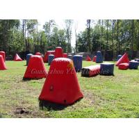Buy cheap Multi Shaped Inflatable Paintball Bunkers , Inflatable Yard Toys Air Bunkers from wholesalers