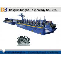 Buy cheap Stainless Steel ERW Tube Mill , Pipe Welding Line Flying Saw Cutting System from wholesalers
