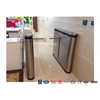 Buy cheap Fingerprint Drop Arm Turnstile , Road Access Control Electronic Barrier Gates from wholesalers