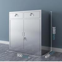 Buy cheap Compact Lockable Metal Filing Cabinet Adjustable Shelves Spray Uniformity Surface from wholesalers
