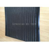 Buy cheap PVC Machine Protection Fabric Expansion Joint Covers / Connection Black Color from wholesalers