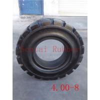 Buy cheap forklift tyre 4.00-8 forklift solid tire from wholesalers