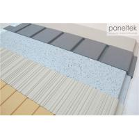 Buy cheap Clay Exterior Wall Panels With Lined / Grooved / Polished Different Finish from wholesalers