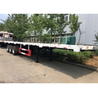 Buy cheap Steel Three Axle 12R22.5 Shipping Container Trailer from wholesalers