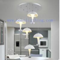 Buy cheap Led Interior Lighting Fixture Ceiling Pendant Lamp Wite Shades from wholesalers