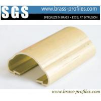 Buy cheap Decorative Brass Handrails For Stair With Customized Designs from wholesalers