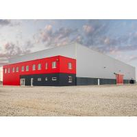 Buy cheap Durable Steel Structure Warehouse Two Story Steel Building With Office Building from wholesalers
