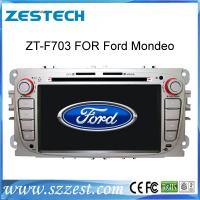 Buy cheap ZESTECH 2 din indash touch screen car dvd player for ford focus gps navigation product