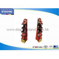 Buy cheap Carslan Cosmetics Permanent Metal Retail Display Stands with LED lights from wholesalers