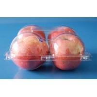 Buy cheap fruit packaging container for apples 4 pcs disposable plastic fruit packaging punnets FDA EU offer product