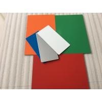Buy cheap Easy To Maintain Waterproof Aluminium Composite Sheet With 70 Colors Optional from wholesalers