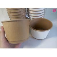 Buy cheap 500pcs per Carton 20oz Double Wall Paper Bowl Food Conatiner Takeaway in EU market from wholesalers