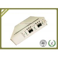 Buy cheap Two SFP + Ports Optical Media Converter Support In - Band Management from wholesalers