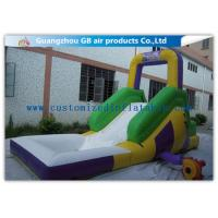Buy cheap Funny Game Small Inflatable Water Slide / Kids Inflatable Garden Water Slides product