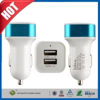 Buy cheap 15W 3.1A Dual Port High Speed iPhone 6 Plus Car Charger For USA / Canada from wholesalers