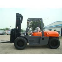 2 Stage / 3 Stage Mast Forklift , Diesel Engine Forklift Truck FD100 2000 Working Hours