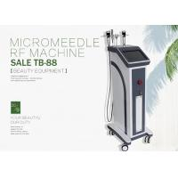 Buy cheap 3 Handles Vertical 25 And 49 Pins Fractional RF Microneedle Machine For Wrinkle Removal from wholesalers