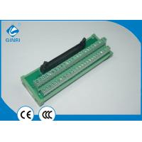 Buy cheap IDC Connector Terminal Block Interface Modules 50 Poles With Excellent Stability from wholesalers