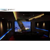 Buy cheap Portable Mobile 5D Cinema Box With Special Effect Motion Chair, Simulation Theater product