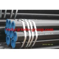 Buy cheap SGS / BV Seamless Carbbon Steel Pipes ASTM A 53 GRADE BANSI B36. BS1387 from wholesalers